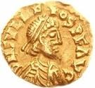 1 tremissis Odovacer / Au nom de Julius Nepos, 477-480 (Ravenne) – avers