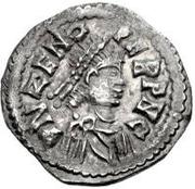 ½ silique Odovacer / Au nom de Zénon, 476-491 (Mediolanum/Milan; deux ailes haut) – avers