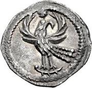 ½ silique Odovacer / Au nom de Zénon, 476-491 (Mediolanum/Milan; deux ailes haut) – revers