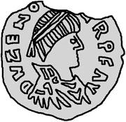 ½ siliqua Odovacar / Au nom de Zeno, 476-491 (Mediolanum/Milan; une ailes haut) – avers