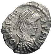 ½ silique Odovacer / Au nom de Zénon, 476-491 (Mediolanum/Milan; une ailes haut) – avers