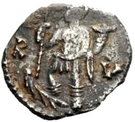 ½ silique Odovacer / Au nom de Zénon, 476-491 (épaisse proue) – revers