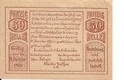 50 Heller (Herzogsdorf) -  revers