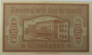1000 Mark (Nassauische Landesbank) – revers