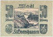 50 Pfennig (Sankt Goarshausen) – revers