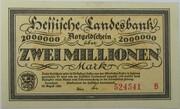 2,000,000 Mark (Hessische Landesbank) – avers