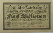 5,000,000 Mark (Hessische Landesbank) – avers
