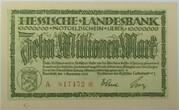 10,000,000 Mark (Hessische Landesbank) – avers