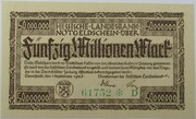 50,000,000 Mark (Hessische Landesbank) – avers