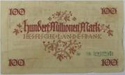 100,000,000 Mark (Hessische Landesbank) – revers