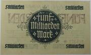 5,000,000,000 Mark (Hessische Landesbank) – revers