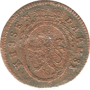 1 Pfennig (Ludwig IX) – avers