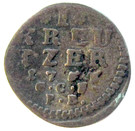 1 kreuzer Ludwig VIII – revers