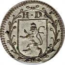 2 kreutzer Ludwig VIII – avers