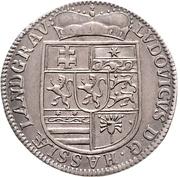 12 kreuzer Ludwig VIII – avers