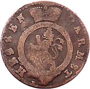 1 pfennig Ludwig IX – avers