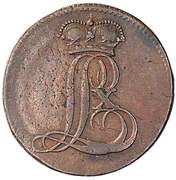 ½ Stüber - Ludwig X -  avers