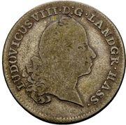 10 kreuzer Ludwig VIII – avers
