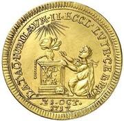 1 ducat Ernst Ludwig (Reformation) – revers