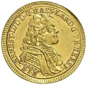 1 ducat Ernst Ludwig – avers