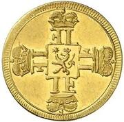 1 ducat Ernst Ludwig – revers