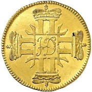 2 ducats Ludwig VIII – avers