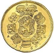 2 ducats Ludwig VIII – revers