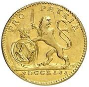 1 ducat Ludwig VIII – avers