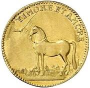 1 ducat Ludwig VIII – revers