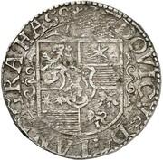 12 kreuzer Ludwig V – avers