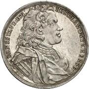 1 thaler Ernst Ludwig – avers