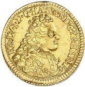 ½ ducat Ernst Ludwig – avers