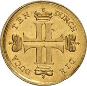1 Ducat - Ludwig VIII. (Hirschdukat) – avers