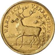 1 Ducat - Ludwig VIII. (Hirschdukat) – revers