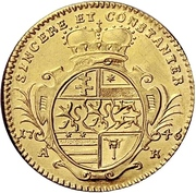 1 Ducat - Ludwig VIII. – revers