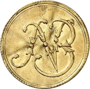 1 Ducat - Ludwig VIII. (Jagddukat) – avers
