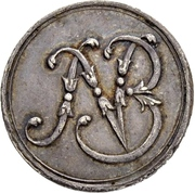 1 Ducat - Ludwig VIII. (Jagddukat; Silver pattern strike) – avers
