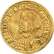 1 Ducat - Georg II. – avers