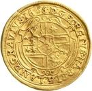 1 Ducat - Georg II. – revers