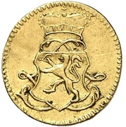 1 Kreuzer - Ludwig VIII. (gold pattern strike) – avers