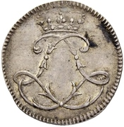 1 Ducat - Ludwig VIII. (Silver pattern strike) – avers