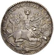 1 Ducat - Ludwig VIII. (Silver pattern strike) – revers