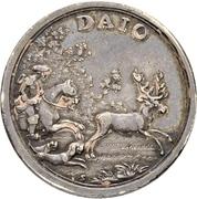 2 Ducat - Ludwig VIII. (Silver pattern strike) – avers