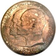 5 Mark - Ernst Ludwig (400ème anniversaire de la naissance de Philippe le Magnanime) – avers