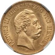 10 Mark - Ludwig III – avers