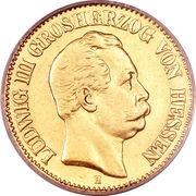 10 Mark - Ludwig III -  avers