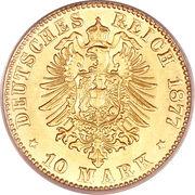 10 Mark - Ludwig III – revers