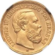 10 Mark - Ludwig IV – avers