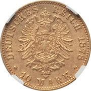 10 Mark - Ludwig IV – revers