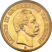 20 Mark - Ludwig III – avers
